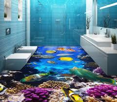 luxury european modern toilets bathroom ocean world 3d floor