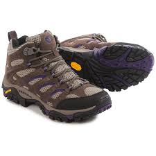 merrell womens hiking boots sale merrell moab ventilator mid hiking boots for save 36