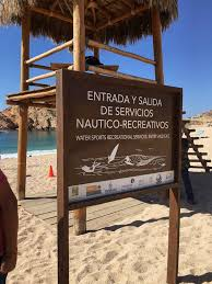 San Jose Flag Blue Flag Beaches Los Cabos Cabo San Lucas Beaches