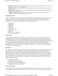 Best Technical Writer Resume by Ten Steps To Technical Writing