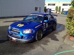 subaru street racing 2005 super touring st subaru impreza wrx sti road race car race