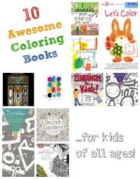 10 awesome coloring books child fun