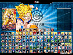 dragon ball heroes mugen screenshots images pictures