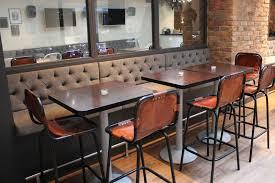 ergonomic banquette seating restaurant 116 restaurant banquette