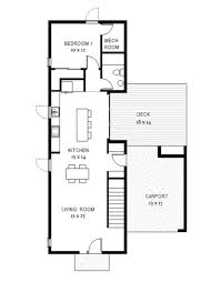 modern style house plan 3 beds 3 00 baths 1900 sq ft plan 497 58
