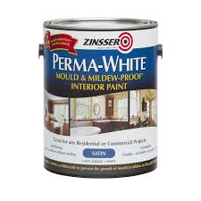 Spray Paint Bunnings - zinsser 3 78l satin perma white interior paint bunnings warehouse