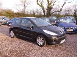 black peugeot for sale used peugeot 207 2008 manual diesel 1 4 hdi s 3 door black for sale