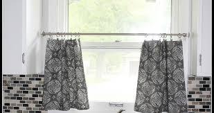Grey White Curtains Grey And White Kitchen Curtains White Kitchen Pops With Gray And