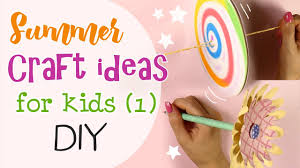 summer craft ideas for kids idee creative estive per ragazzi pt