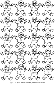 gingerbread math addition facts 4s printables for kids u2013 free
