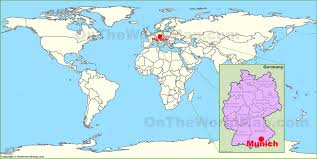 Me On The Map Germany Location On The World Map Simple Germany Map In World