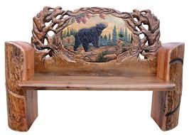 Best  Cabin Furniture Ideas On Pinterest Farmhouse Furniture - Bear furniture