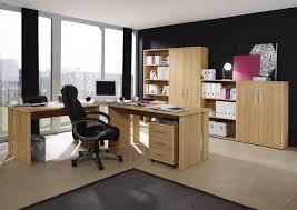 Winkelkombination Omega 4 Teilige Büro Winkelkombination In Dekor Walnuss