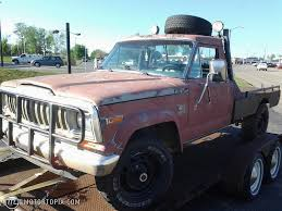 lifted jeep truck 1982 amc jeep j20 id 28913