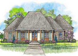 acadian house plan with great rear porch 56379sm architectural