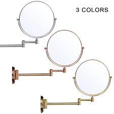 bathroom makeup mirror wall mount pro 8 5x magnifying mirror wall mounted folding bathroom shower