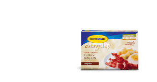 butterball cooked turkey fully cooked turkey bacon butterball