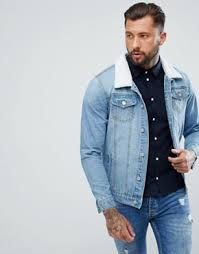 Light Denim Jacket Denim Jackets For Men Men U0027s Denim Jackets Asos