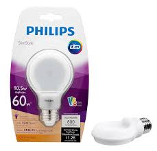 philips slimstyle a19 led bulb u2013 urbia me