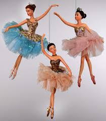 katherines collection ballerina ornaments set of 3 retired