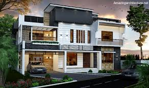 Two Storey Residential Floor Plan Double Storey Modern Residential House Amazing Architecture Magazine