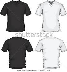 womens polo shirt template black white stock photo 142237507