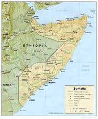 Horn Of Africa Map by Maps Of Somalia Somali Flags Maps Economy Geography Climate