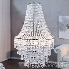 große xl design hängelampe royal kristall strass kronleuchter