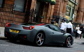 black ferrari wallpaper ferrari 458 matte black wallpaper