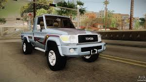 land cruiser pickup toyota land cruiser j79 2016 for gta san andreas