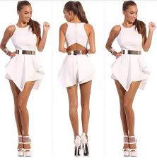 white and gold jumpsuit rompers and jumpsuits best 25 all white jumpsuit ideas on