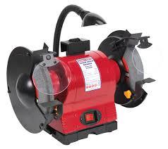 200mm bench grinder with work light 550 watt bg200wl