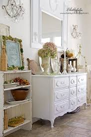 Shabby Chic Fall Decorating Ideas Early Fall Vignettes In The Dining Room At Shabbyfufu Styling