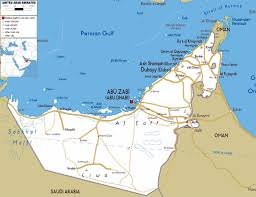 uae map large abu dhabi region maps for free and print high