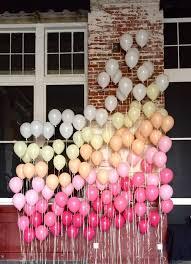 wedding backdrop balloons a ombre balloon backdrop created by up balloon boutique for