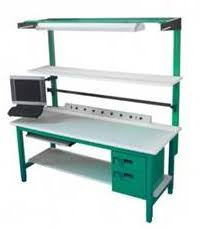 Workbench With Light 4 Leg Design Heavy Duty Workbenches Jha Techspacejha Techspace
