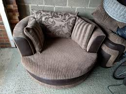 Large Swivel Chairs Living Room Used Dfs Destiny Large Swivel Chair In Rg42 Warfield For