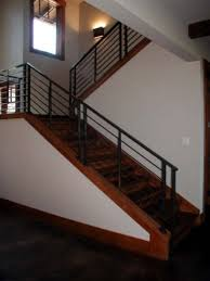 contemporary stair rails and banisters a more decor