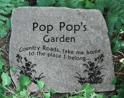Engraved Garden Rocks Custom Engraved Garden Stones Engraved Rocks Memorial Stones