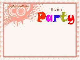 birthday invitation birthday invitations sle safero adways