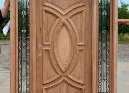kerala model double door wooden design youtube latest house main