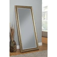 Free Standing Bathroom Mirror Floor Standing Mirror Akapello