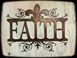 beautiful ornate metal faith wall decor fleur de lis available at