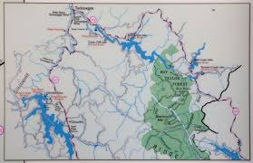Smoky Mountains Map Paddling In The Great Smoky Mountains Jackson County Nc