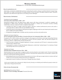 Job Guarantee Resume by Executive Resume Makeovers For The Obamas U0027 Next Career Moves