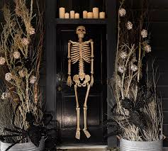 Pottery Barn Outdoor Halloween Decorations by Outdoor Mr Bones Natural Pottery Barn