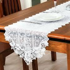 home decor table runner elegant european style table runner stereo embroidery flower lace