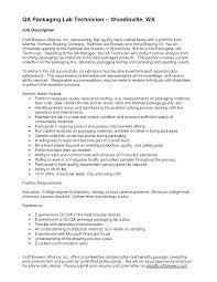 Quality Inspector Resume Pharma Qc Manager Resume Virtren Com