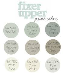 Modern Farmhouse Colors Fixer Upper Paint Colors Best Seller Paint Colors By Sherwin
