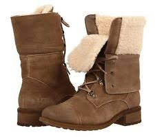 s ugg lace up boots ugg australia combat boots lace up shoes for ebay